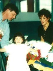 Thomas Quain, Gabriella Quain and Antoinette Quain.