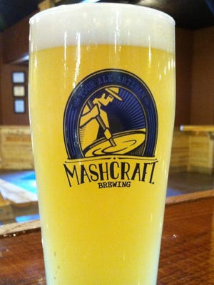 Easy Street Shuffle, the Hefeweizen at MashCraft Brewing in Greenwood.