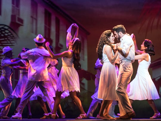 Christie Prades as Gloria Estefan, Mauricio Martinez as Emilio Estefan and Company, On Your Feet!