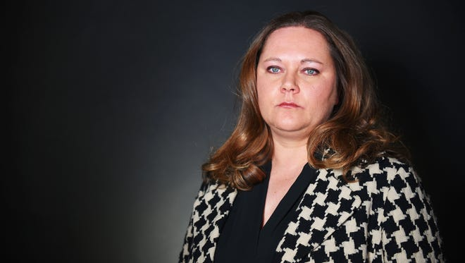 Tiffany Campbell, former lobbyist for the American Civil Liberties Union of South Dakota, Monday, Nov. 27.