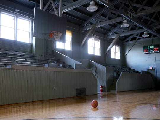Like many old gyms around Indiana, the Knightstown