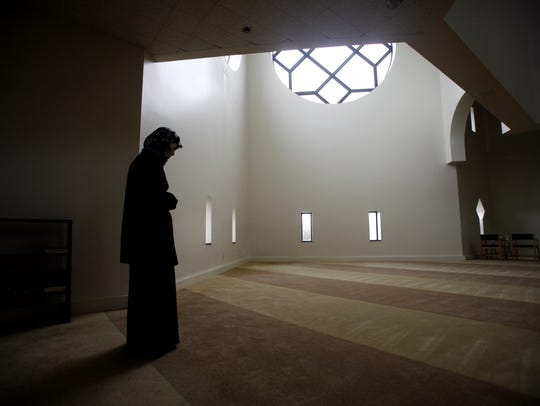 The mosque at the Islamic Society of North America