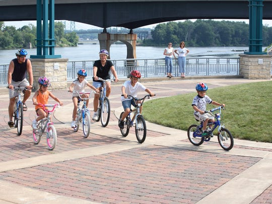 For 32 years, Ride the River has been a family Father's Day tradition.