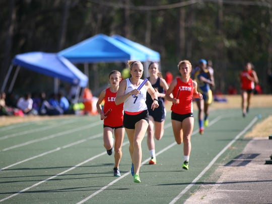 Maclay's Katie Whitworth punched her ticket to state by finishing second in the 1600 and on relays.