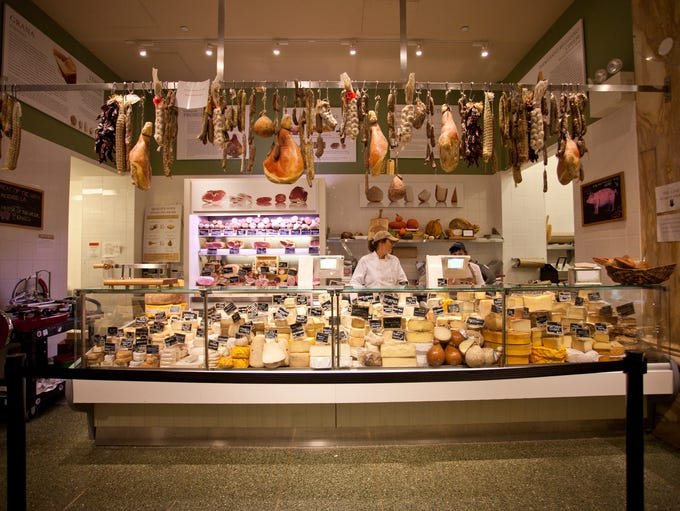 Eataly now has 30 locations worldwide, and the Salumi