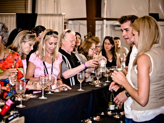 Asheville Wine and Food Festival Grand Tasting celebrates