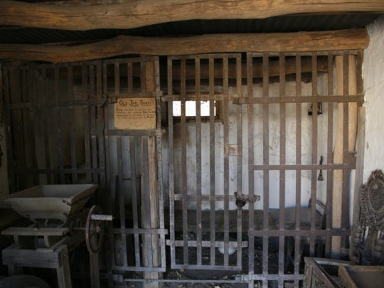 A cell in Mesilla's Gadsden Museum was once part of
