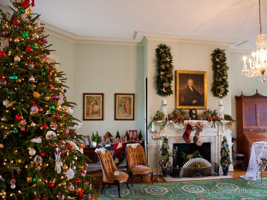 Philly's historic Fairmount Park homes are dressed up for the holidays.
