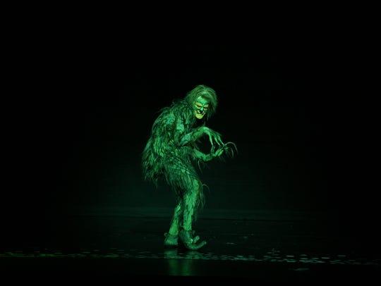 Stefan Karl as The Grinch.