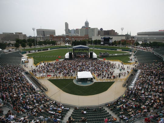 A concert was held at Victory Field for the first time August 4, 2007 with headlining act Counting Crows.
