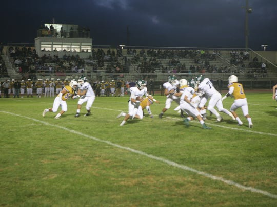 Alisal quarterback Andrew Marquez continued to show his big-play capability as he ran for an 80-yard touchdown against Soledad.