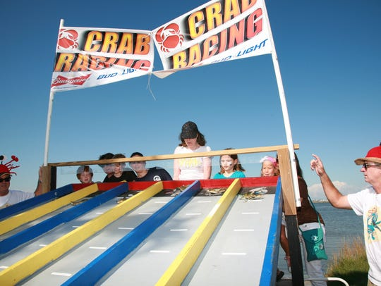 Crab races are among the highlights at Seafair.