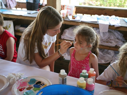The Riverkidz will be on-site painting faces at the