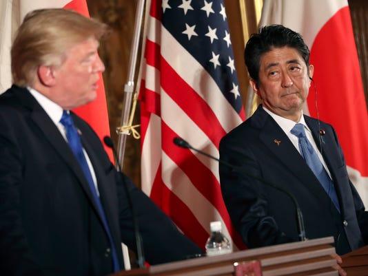 AP TRUMP JAPAN I JPN