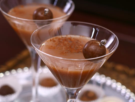 Chocotinis and other cocktails are being served at