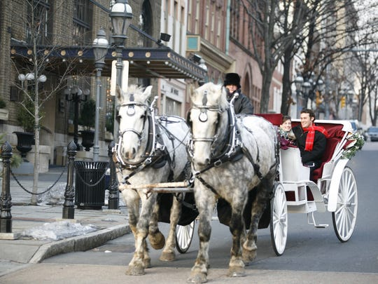 Historic Bethlehem hosts holiday tours throughout December.