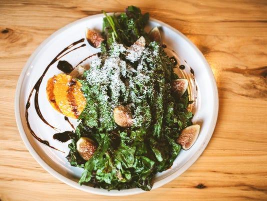 Fried kale salat at Mistral