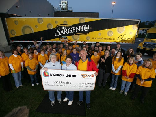 Part of the team of employees who won the lottery back in 2006 but continued to work at Sargento.