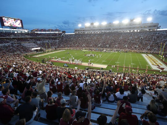 Fans pack the house for the Seminoles Garnet and Gold