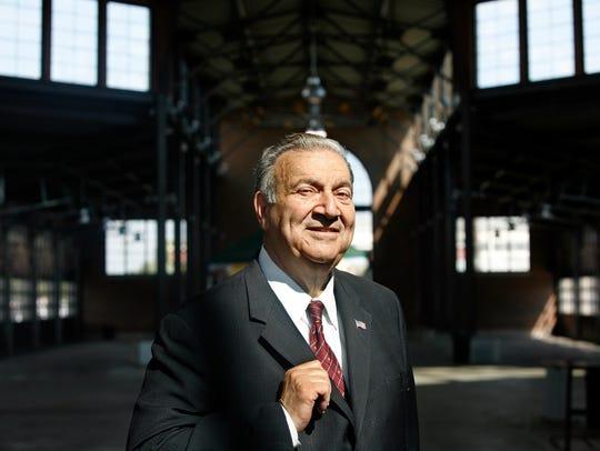 Ed Deeb at Eastern Market in Detroit in 2010.