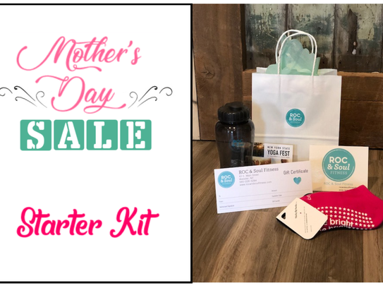 Mother's Day sale at ROC & Soul Fitness