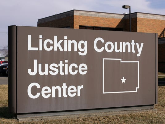 Licking County Justice Center Jail Sheriffs Department Sheriff stock art