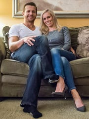 Tony McCollister, 33, and his wife Diana, 34, starred
