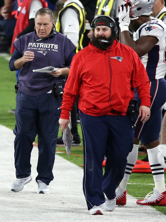 Matt Patricia, Bill Belichick, Matt Patricia Super Bowl