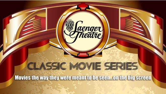 Saenger Theatre Classic Movie Series logo.