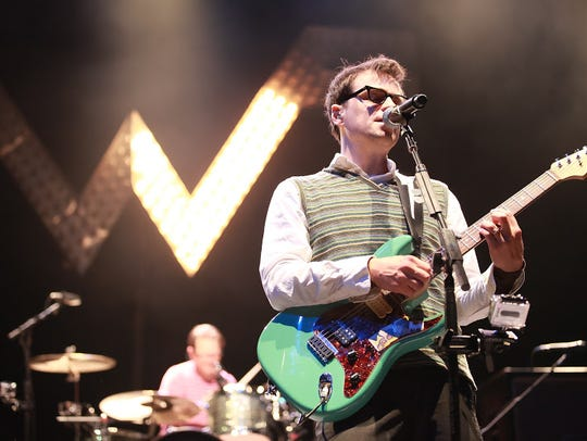 Weezer will perform at Ak Chin Pavilion in Phoenix
