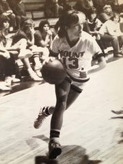 Tina Alexis Allen played basketball at the University