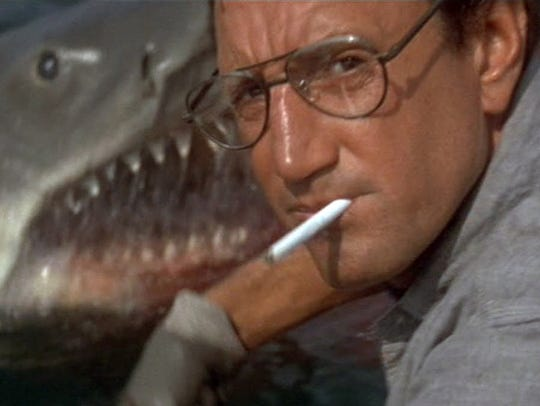 Roy Scheider is about to meet his marine nemesis in