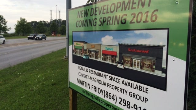 A Hobby Lobby, Starbucks and Culver's restaurant are coming to Airport Road.