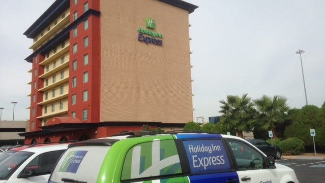 The Holiday Inn Express Central in Downtown El Paso has completed a $2 million renovation.
