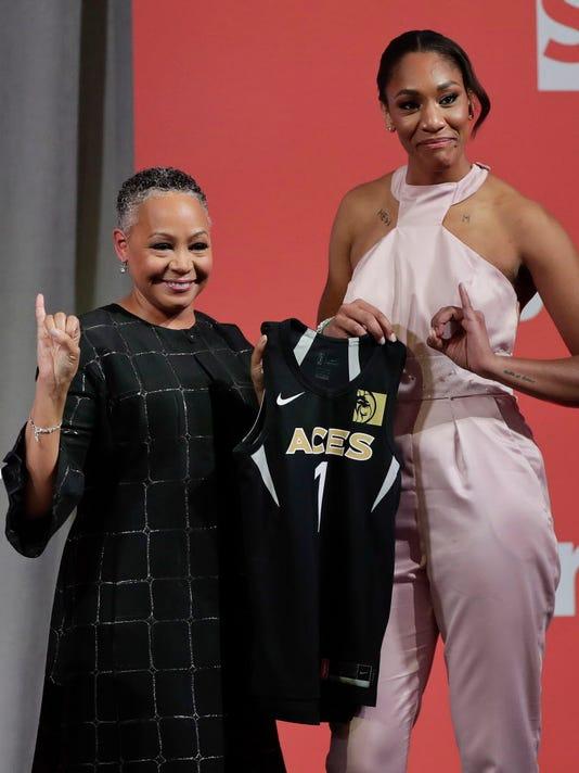 AP WNBA DRAFT BASKETBALL S BKL USA NY