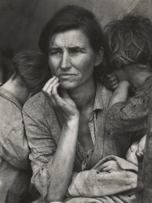 "Dorothea Lange's ""Migrant Mother"" will be on display in the exhibit Light Works at the Museum of Art, opening Friday, Aug. 3."
