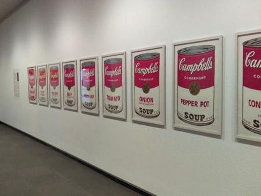 Springfield Art Museum Andy Warhol Cambell's Soup screenprints
