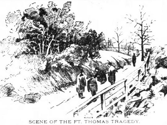 An illustration that appeared in the Enquirer in 1896
