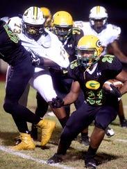 Green Oaks vs. Haynesville football in Shreveport on