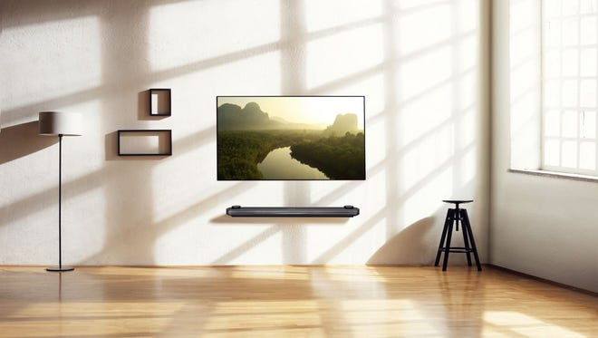 LG Electronics' 77-inch  Signature OLED TV W.