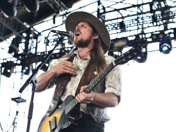 Lukas Nelson performs onstage during 2018 Stagecoach