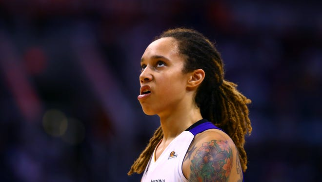 Brittney Griner opted out of the U.S. women's national basketball team training camp that began Monday.
