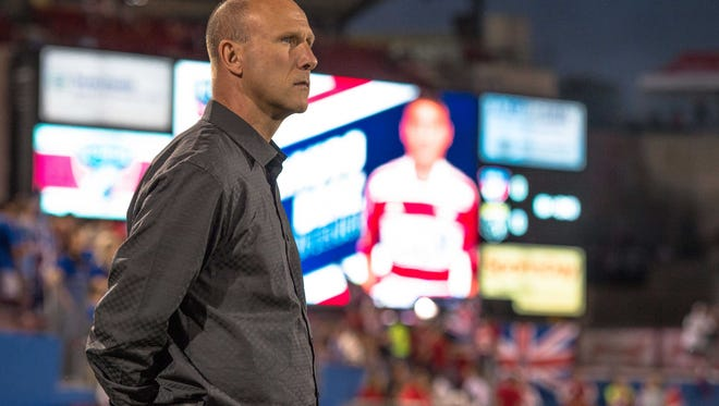 Webster native Brian Bliss has been named interim coach of the Chicago Fire. He is the team's technical director.