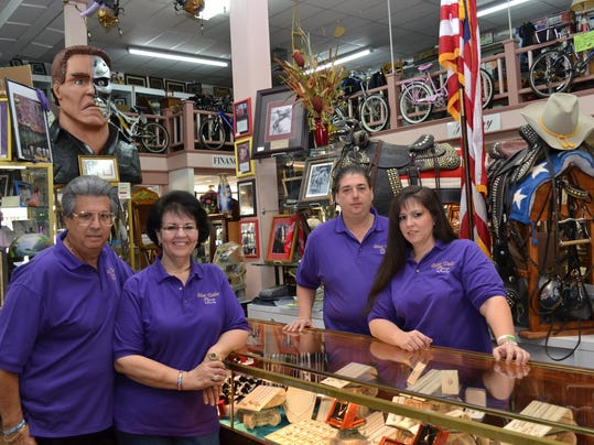 Silver Dollar Pawn Friday, Dec. 16, 2011. - Melinda Martinez/mmartinez@thetowntalk.com