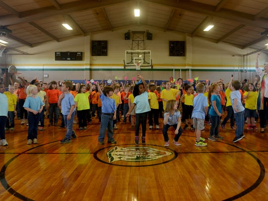 Beech Bluff Elementary School held its Spring Musical on Friday to say farewell to the Beech Bluff building and 'Ease on Down the Road' to Rose Hill.