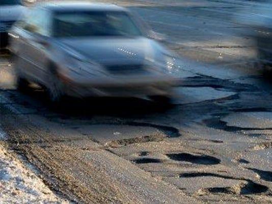 michigan potholes