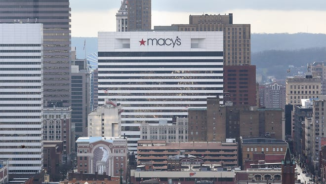 Macy's Downtown headquarters in Cincinnati.