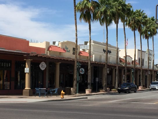 Downtown historic square