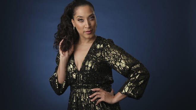 """Robin Thede, the creator, star and executive producer of the HBO comedy series """"A Black Lady Sketch Show,"""" poses for a portrait during the 2019 Television Critics Association Summer Press Tour."""