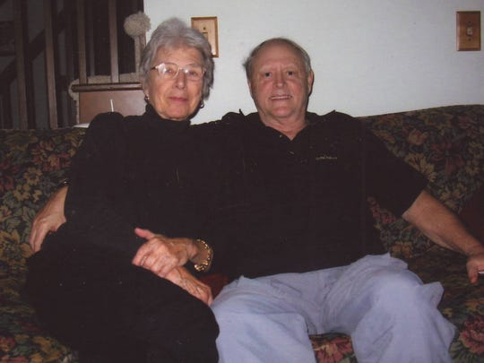 Joanne and Jim Huhta plan a quiet anniversary celebration the day after Christmas at their home north of Sturgeon Bay.